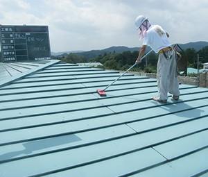 屋根塗装-素地調整